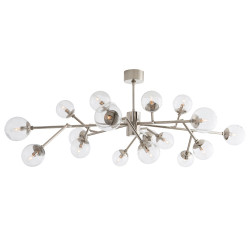 Dallas Chandelier - Polished Nickel
