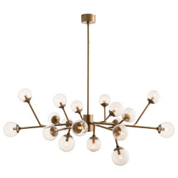 Dallas Chandelier - Vintage Brass