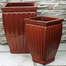 Anamese Corinthian Square Planter Set