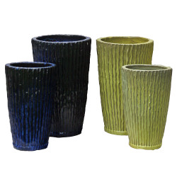 Anamese Pleated Crucible Set of 2