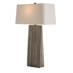 Ravi Lamp - Metallic Python/Silver Shade
