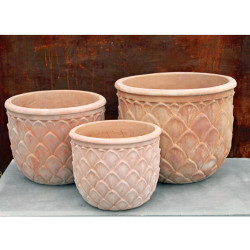 Anamese Artichoke Planter Set of 3