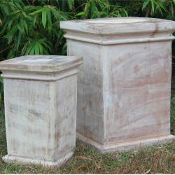 Anamese Garden Pillars Set of 2
