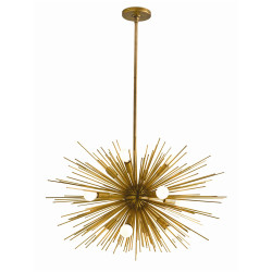 Zanadoo Small Chandelier - Antique Brass