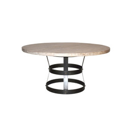 """Basket"" Dining Table - Rl Top - 60"""
