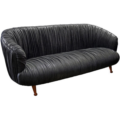 Bertha Sofa - Natural Walnut Legs