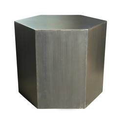 """Panal Side Table - 20"""" High"""