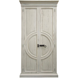 Reclaimed Lumber Circle-Armoire