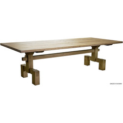Reclaimed Lumber Emilia Dining Table - 120""