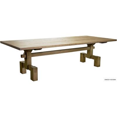 "Reclaimed Lumber Emilia Dining Table - 96"""