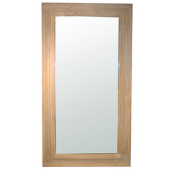 Reclaimed Lumber Floor Mirror - Small