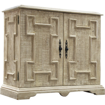 Reclaimed Lumber Gothic Cabinet