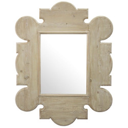 Reclaimed Lumber Gothic Mirror - Wall
