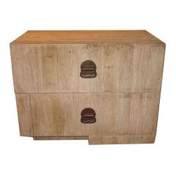 Reclaimed Lumber Nightstand (Left Or Right)
