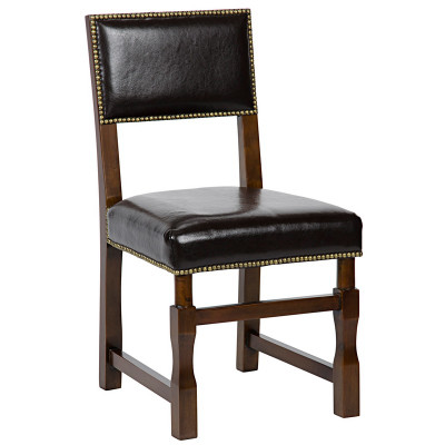 Abandon Side Chair - Distressed Brown