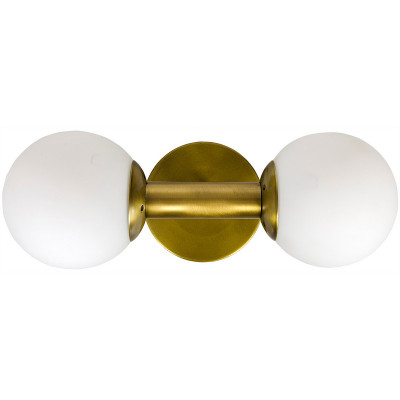 Antiope Sconce - Antique Brass Finish