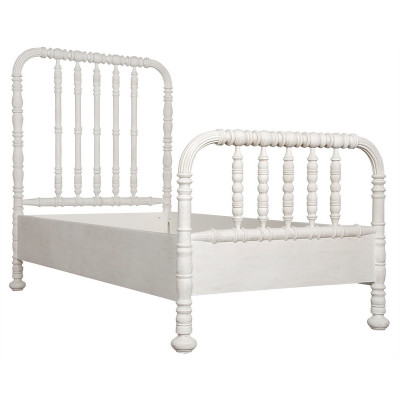 Bachelor Bed - Queen - White Wash