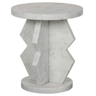 Belasco Side Table - Marble