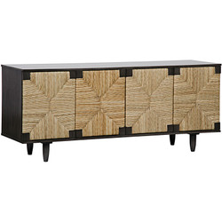 Brook 4 Door Sideboard - Pale