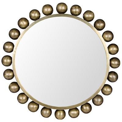 Cooper Mirror - Antique Brass Finish