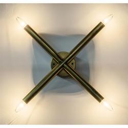 Cross Sconce - Antique Brass Finish