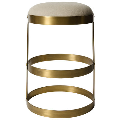 Dior Counter Stool - Antique Brass