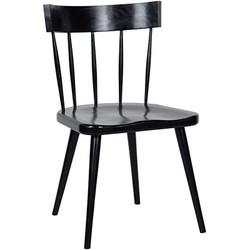 Esme Chair - Hand Rubbed Black
