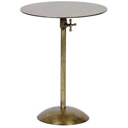 Felix Side Table - Antique Brass Finish