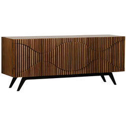 Illusion Sideboard w/ Metal Base