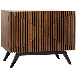 Illusion Single Sideboard w/ Metal Base