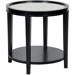 Imperial Side Table - Hand Rubbed Black