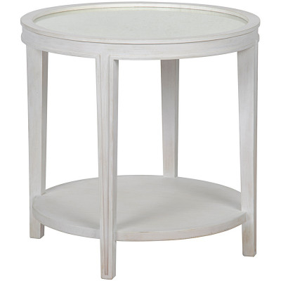 Imperial Side Table - White Wash