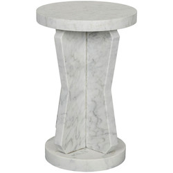 Ingram Side Table - Marble