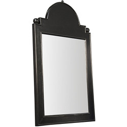 Jess Mirror - Hand Rubbed Black