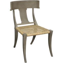 Layton Chair w/ Rattan - Dusk