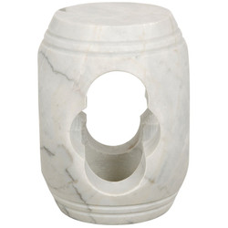 Legend Stool - White Stone