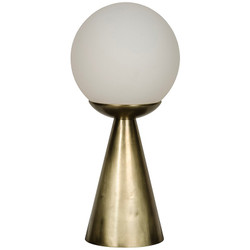Merle Table Lamp - Antique Brass Finish