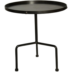 Paige Side Table - Metal