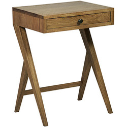 Peter Side Table - Dark Walnut