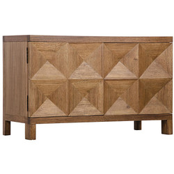 Quadrant 2 Door Sideboard - Dark Walnut