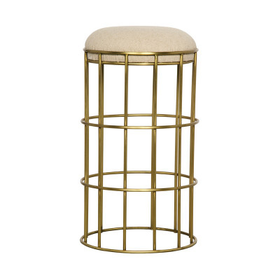 Ryley Counter Stool - Gold Finish