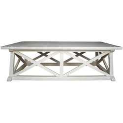 Sutton Coffee Table - White Wash