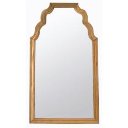 Teak Floor Mirror