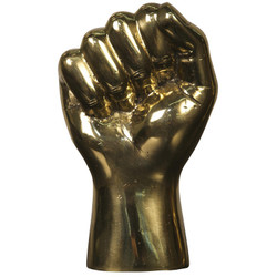 The Solidarity Fist - Brass