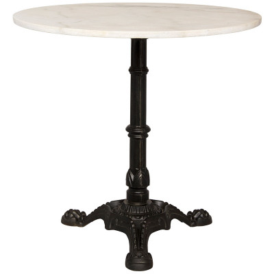 Theresia Side Table - Cast Iron and Stone