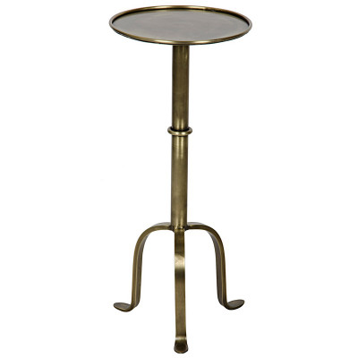 Tini Side Table - Antique Brass Finish