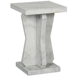 Vasco Side Table - Marble