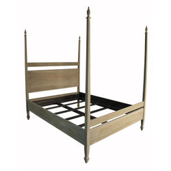 Venice Bed - E King - Weathered