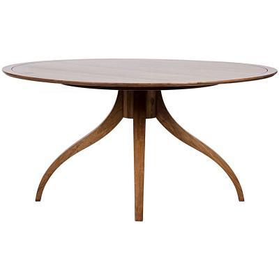 Vera Dining Table - Dark Walnut