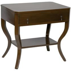 Weldon Side Table - D. Brown